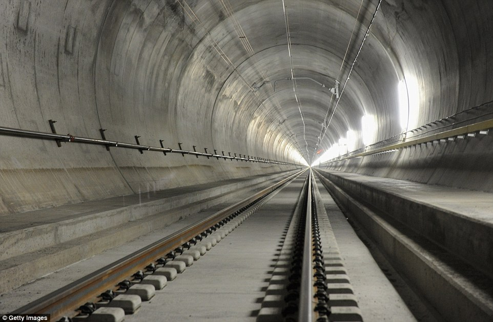 World's longest rail tunnel in Switzerland  open