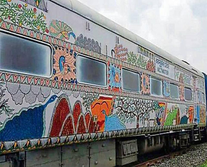 Bihar Sampark Kranti SF Express
