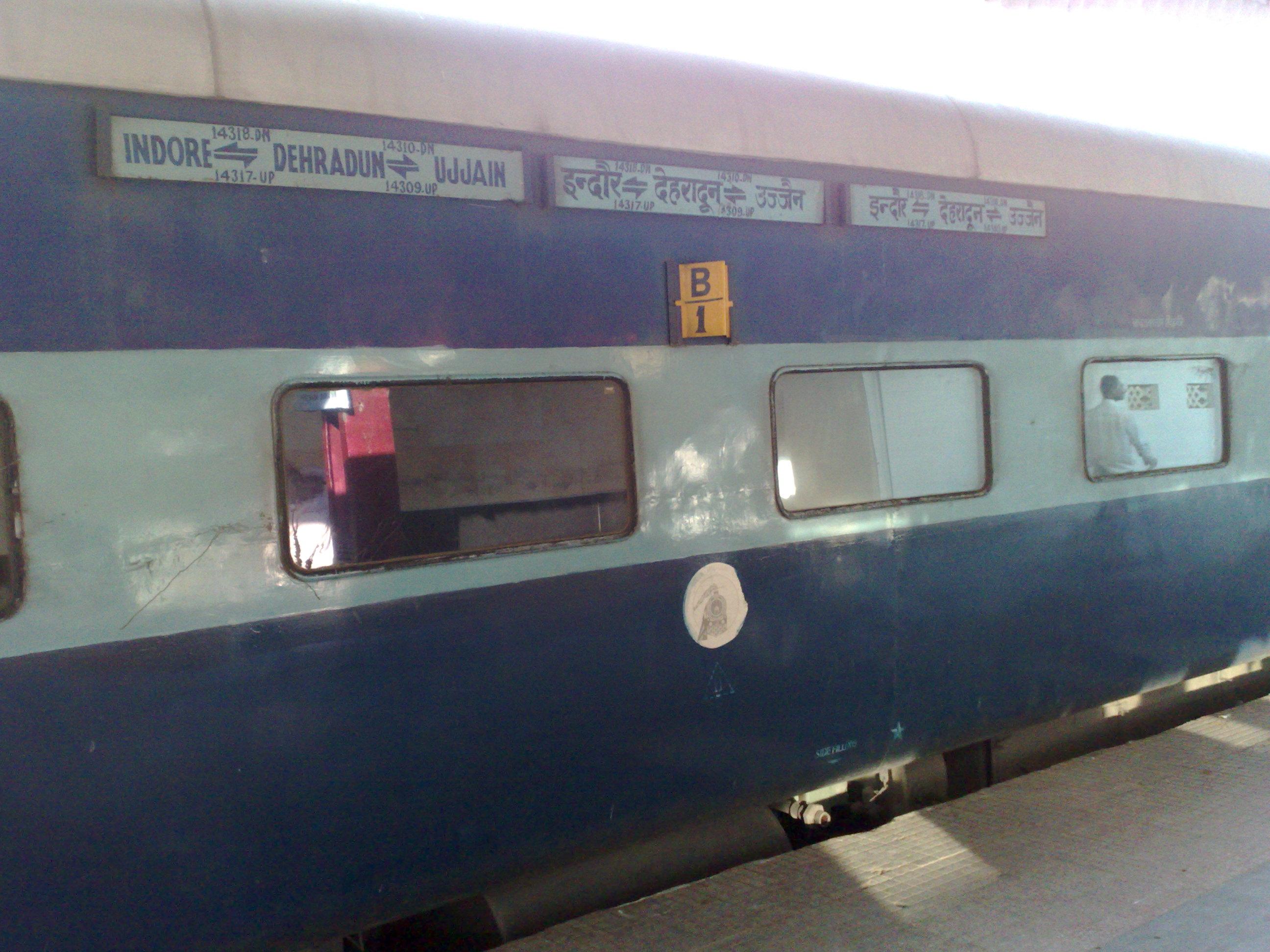Indore - Dehradun Express