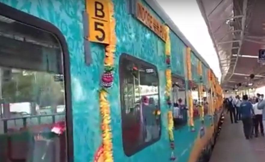 Puri - Indore Humsafar Express