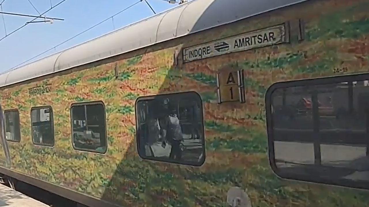 Indore - Amritsar Express