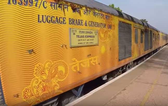Mumbai CSMT - Karmali Tejas Express