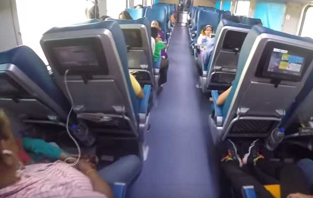 Karmali - Mumbai CSMT Tejas Express