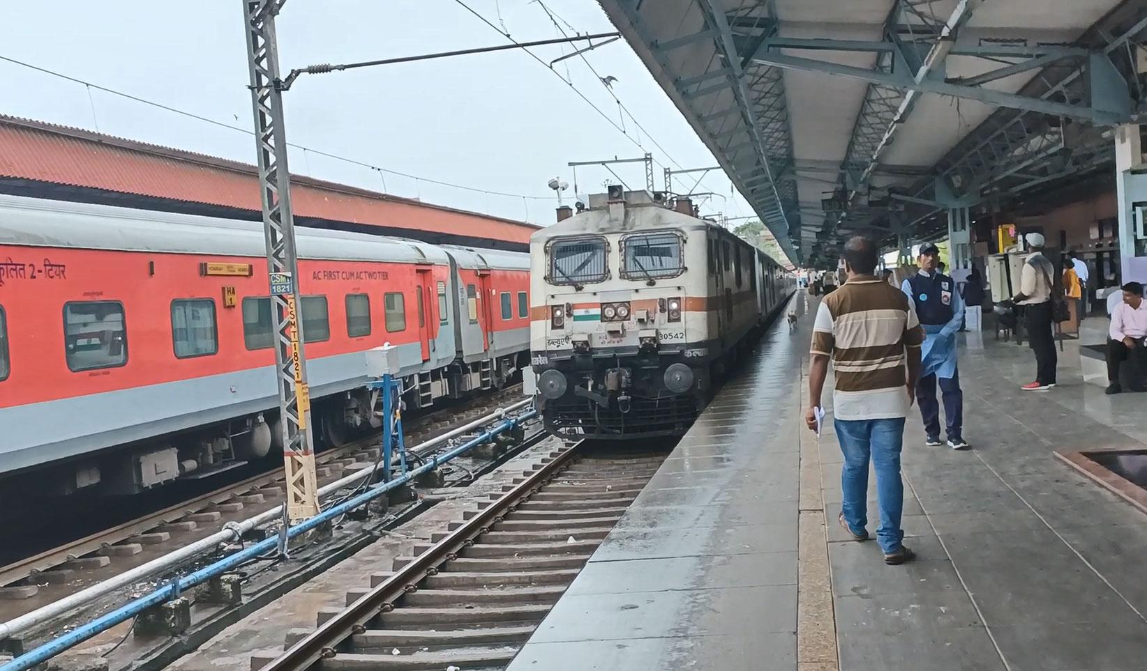 Mumbai CSMT - Hazrat Nizamuddin Rajdhani Express