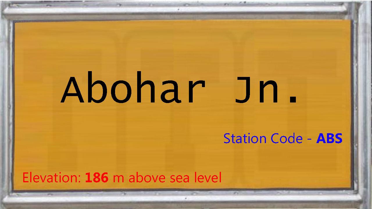Abohar Junction