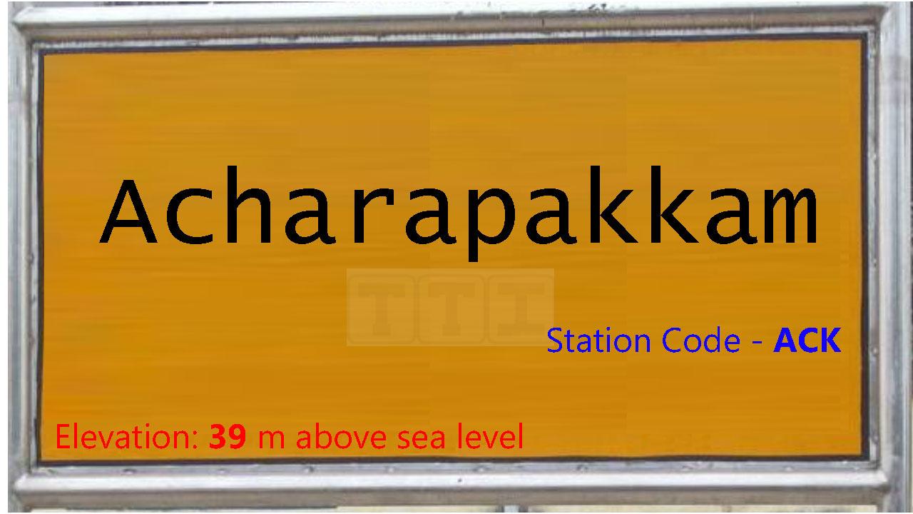 Acharapakkam