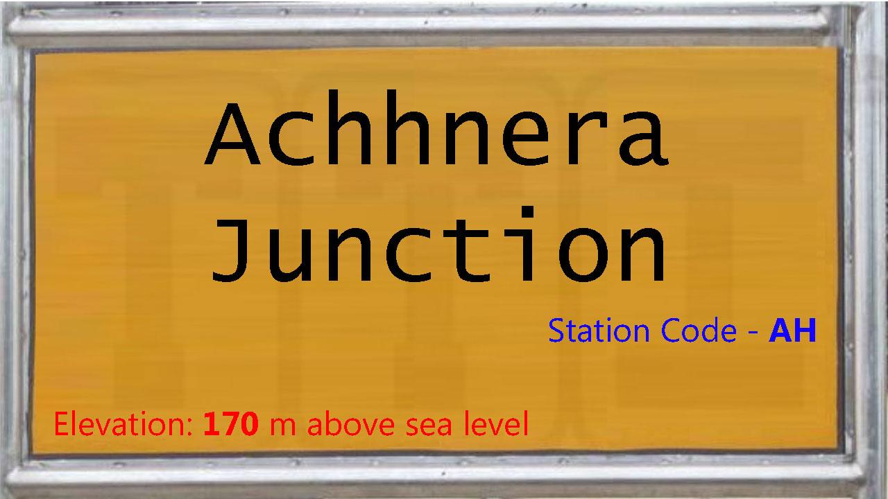 Achhnera Junction
