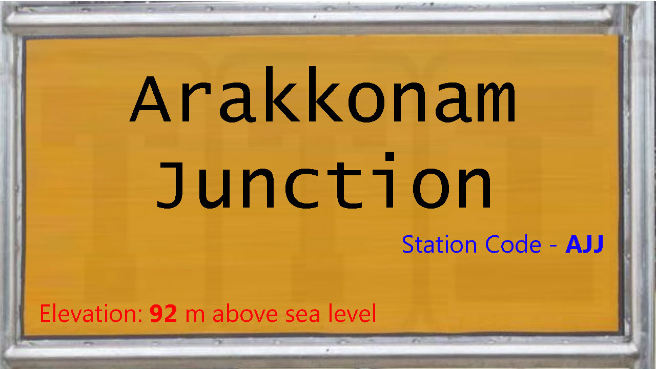 Arakkonam Junction