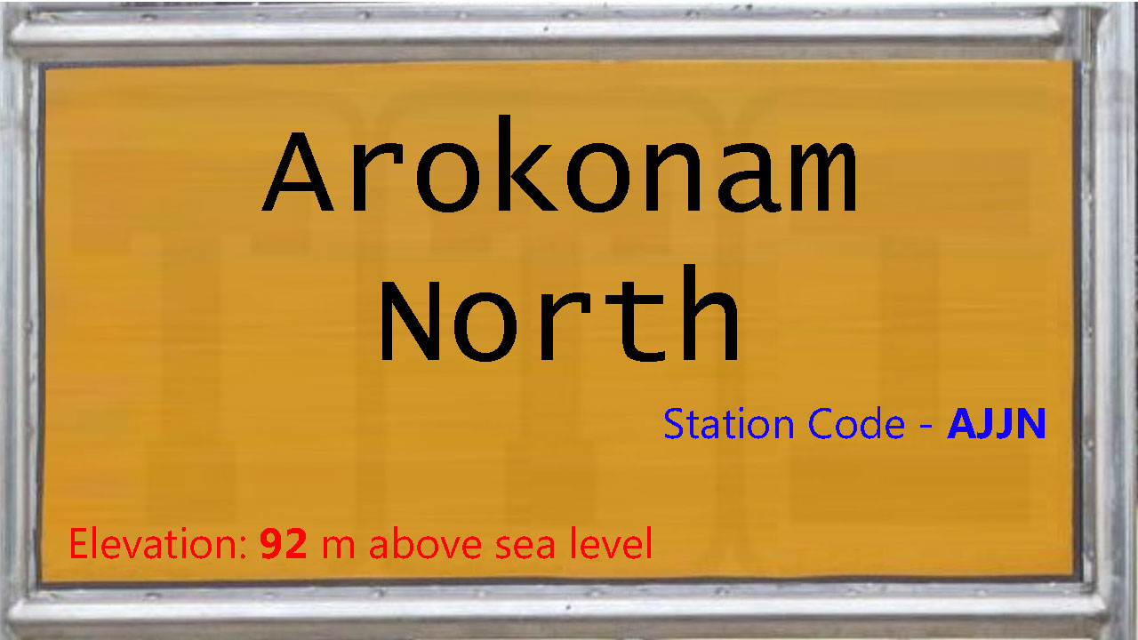 Arokonam North