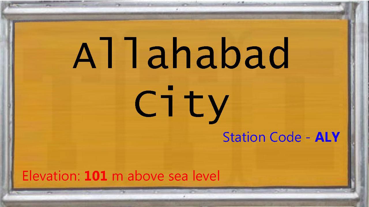 Allahabad City