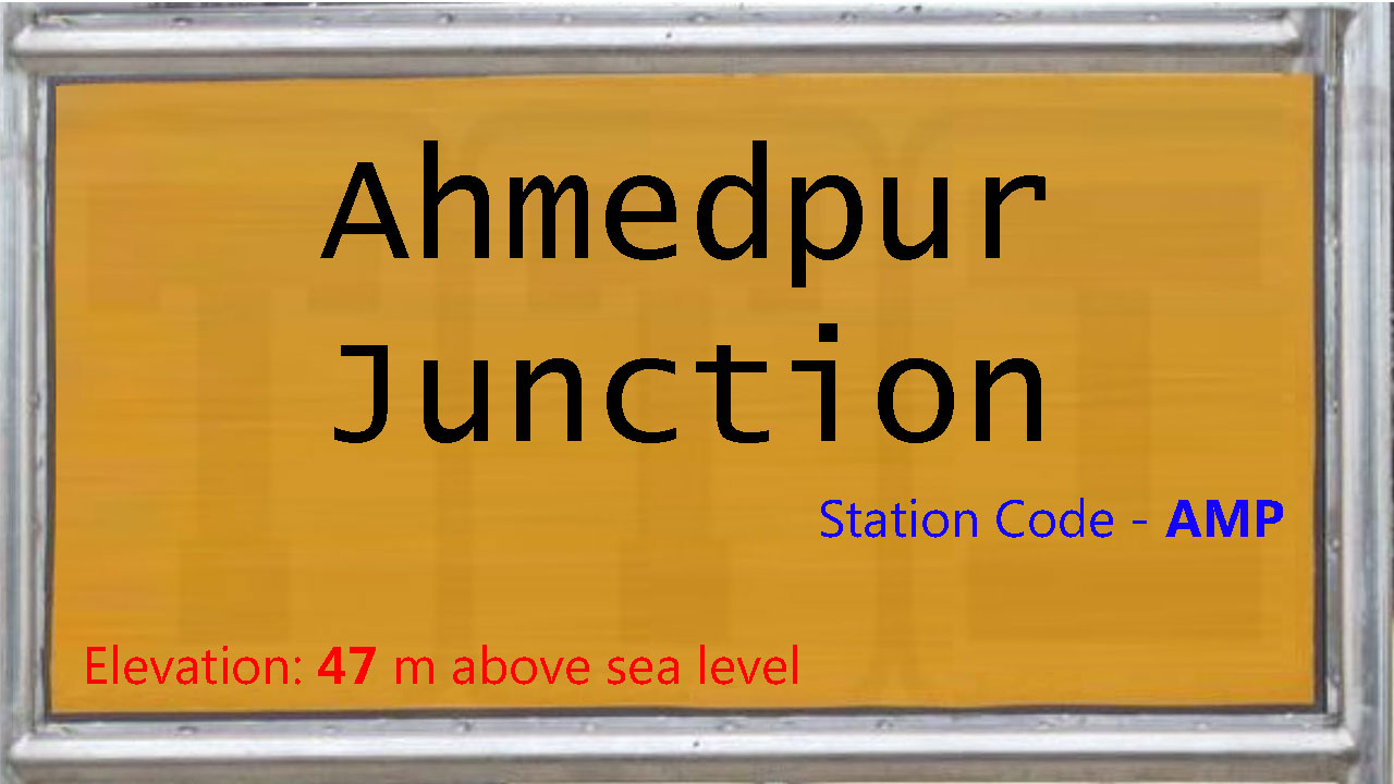 Ahmedpur Junction