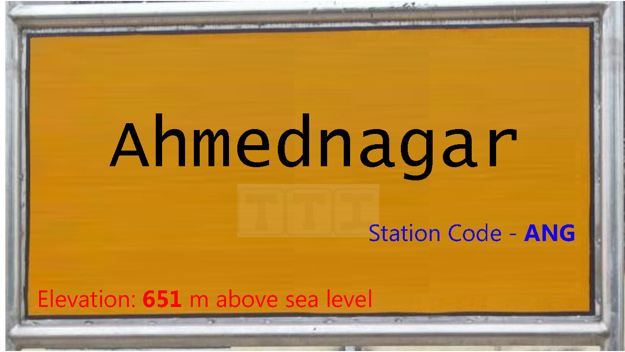 Ahmednagar