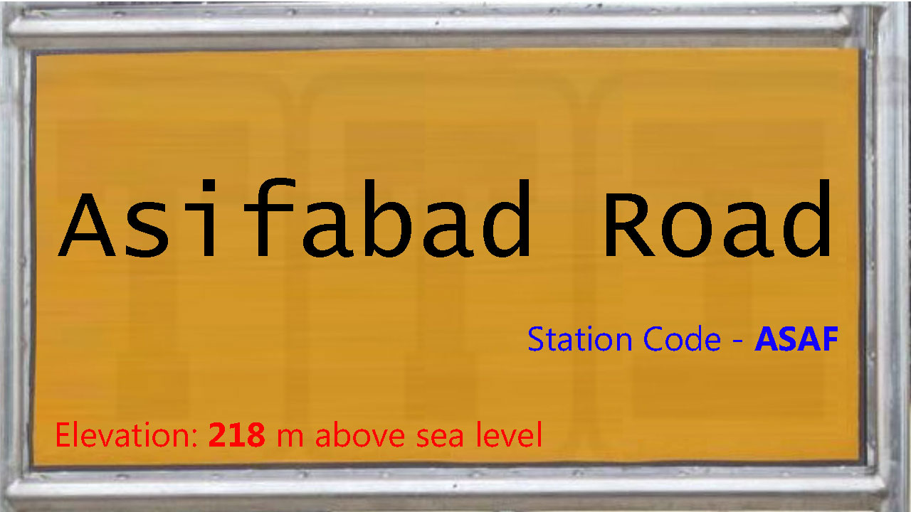 Asifabad Road