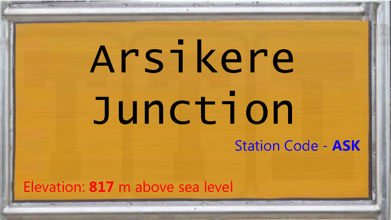 Arsikere Junction