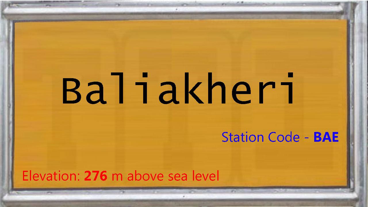 Baliakheri