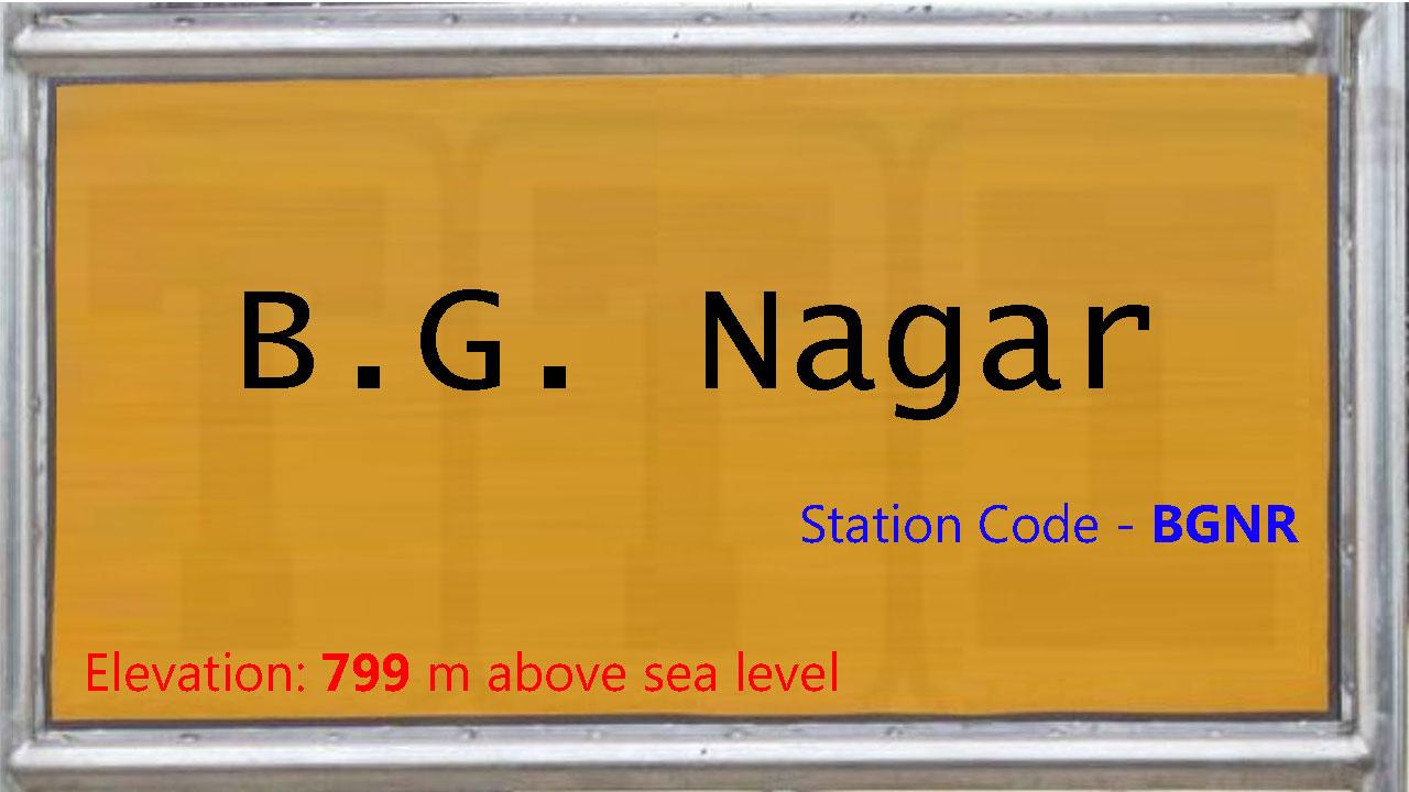 B.G. Nagar