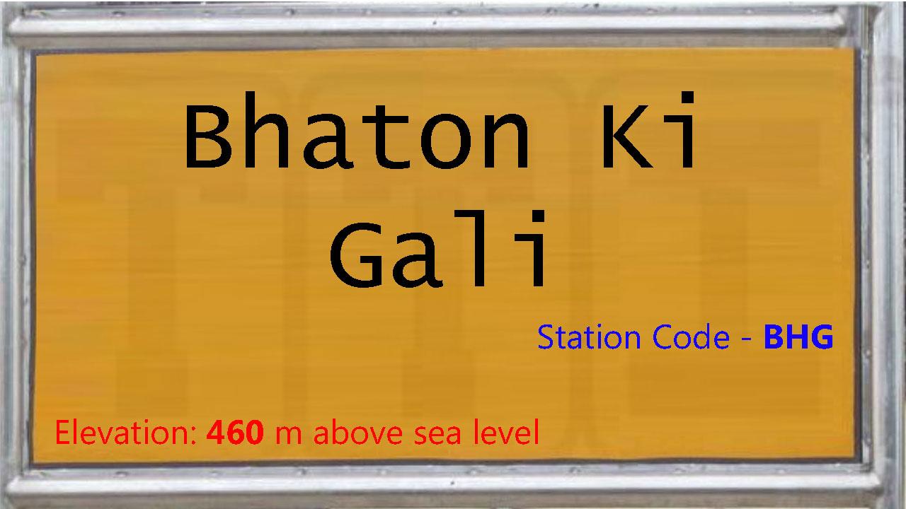 Bhaton Ki Gali