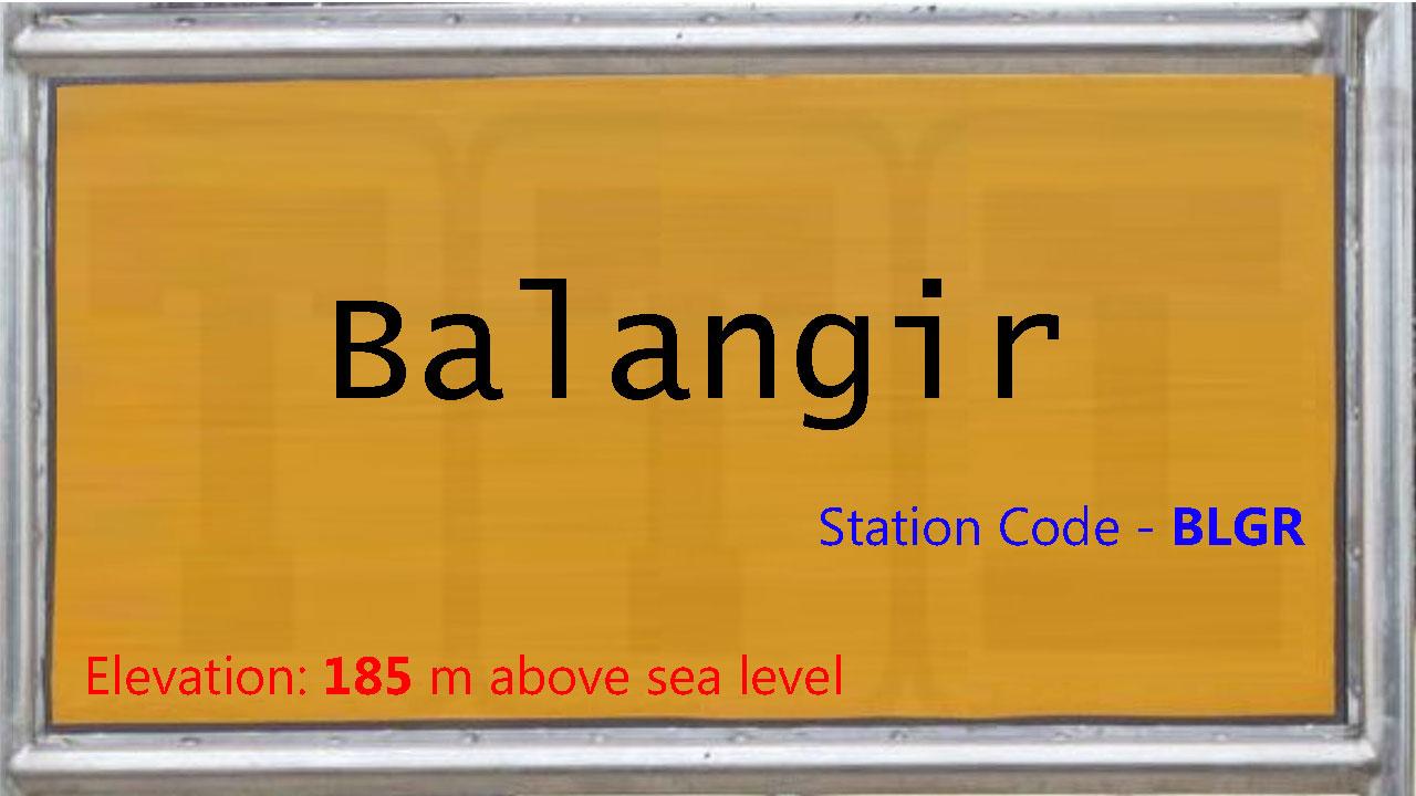 Balangir Junction
