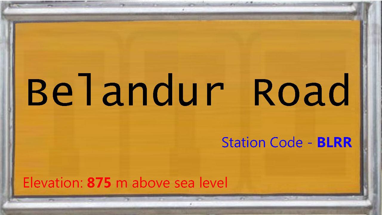 Belandur Road