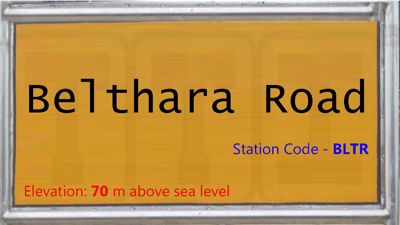 Belthara Road
