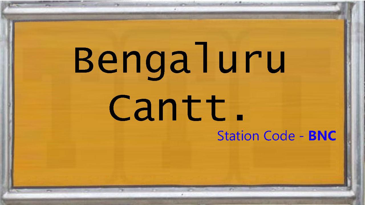 Bengaluru Cantt.