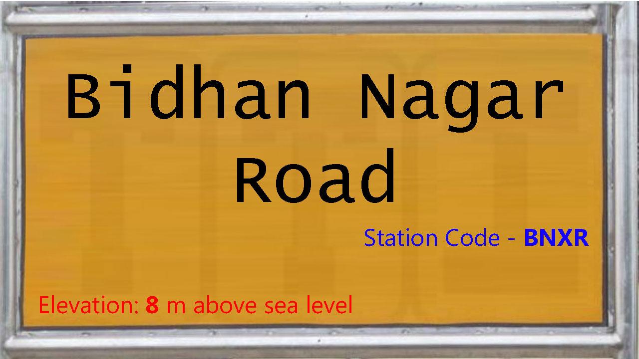 Bidhan Nagar Road