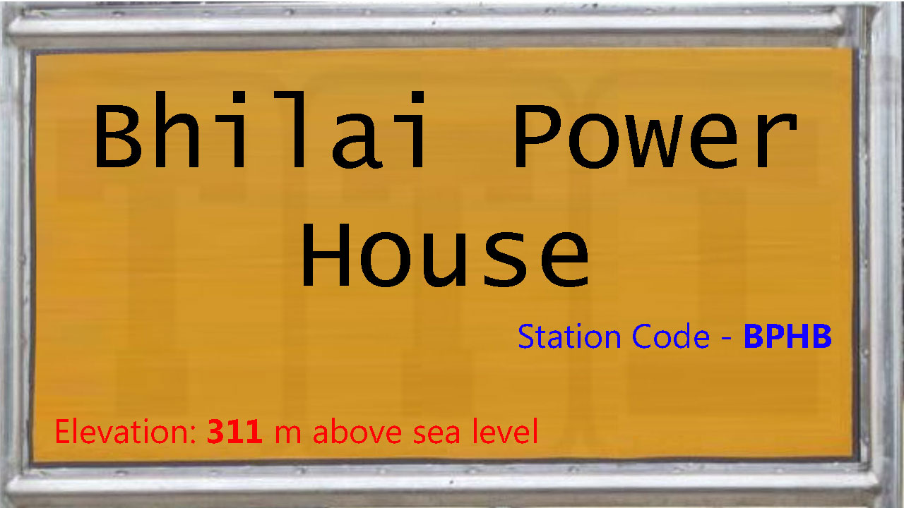 Bhilai Power House