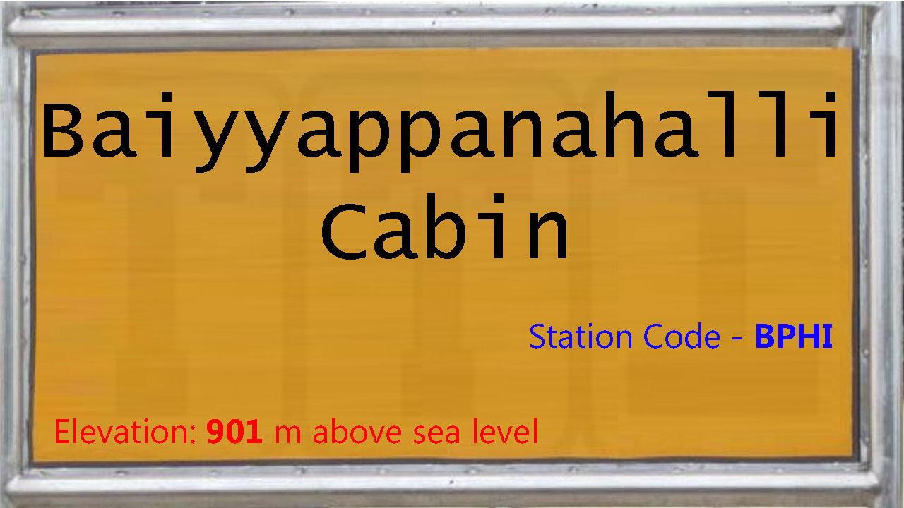 Baiyyappanahalli Cabin