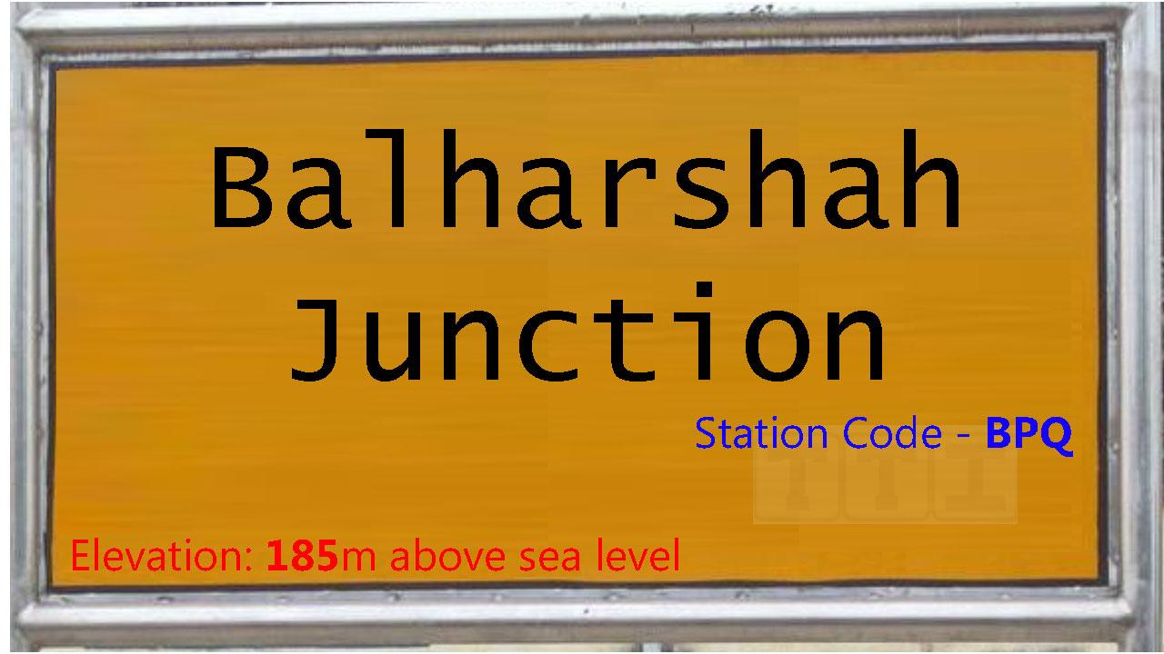 Balharshah Junction