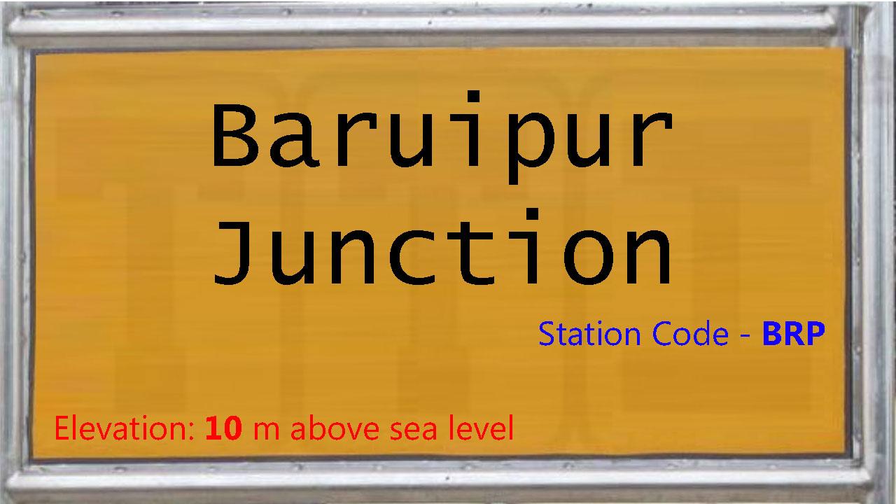 Baruipur Junction