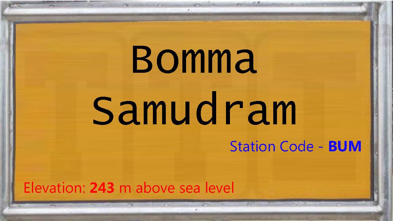 Bomma Samudram