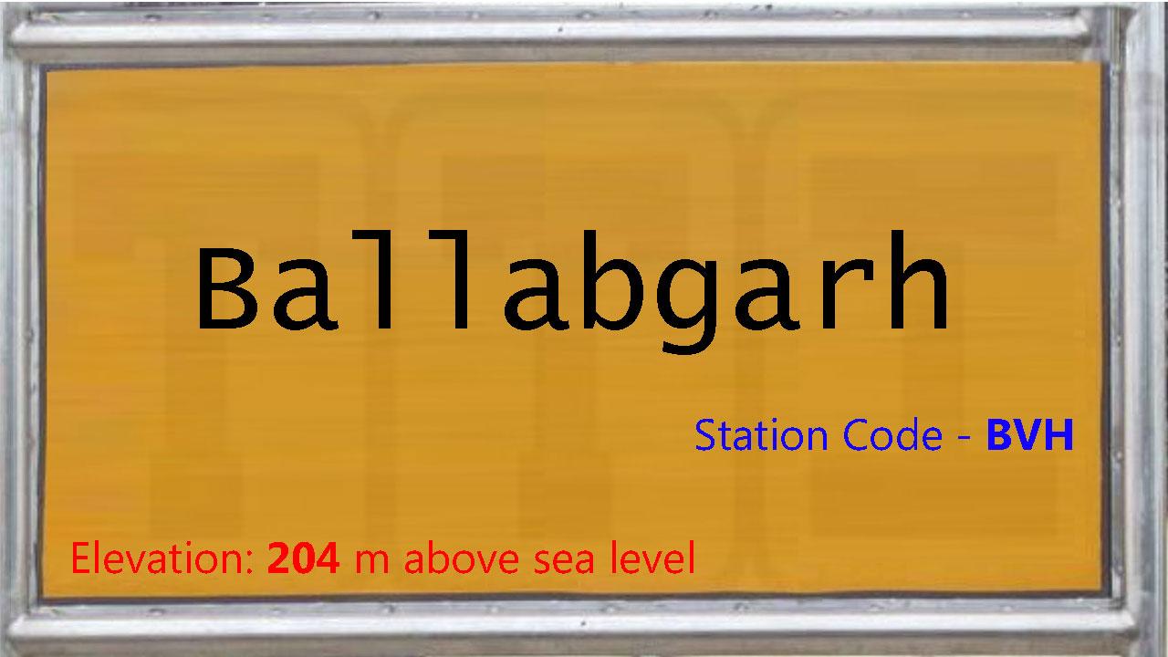 Ballabgarh