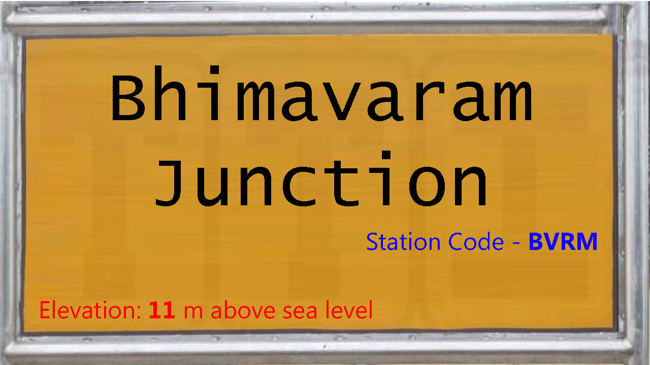 Bhimavaram Junction