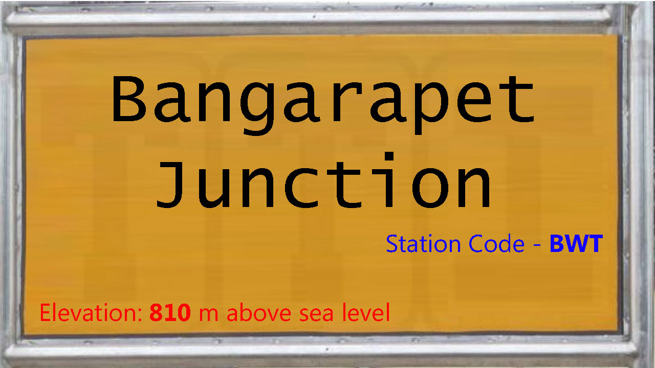 Bangarapet Junction