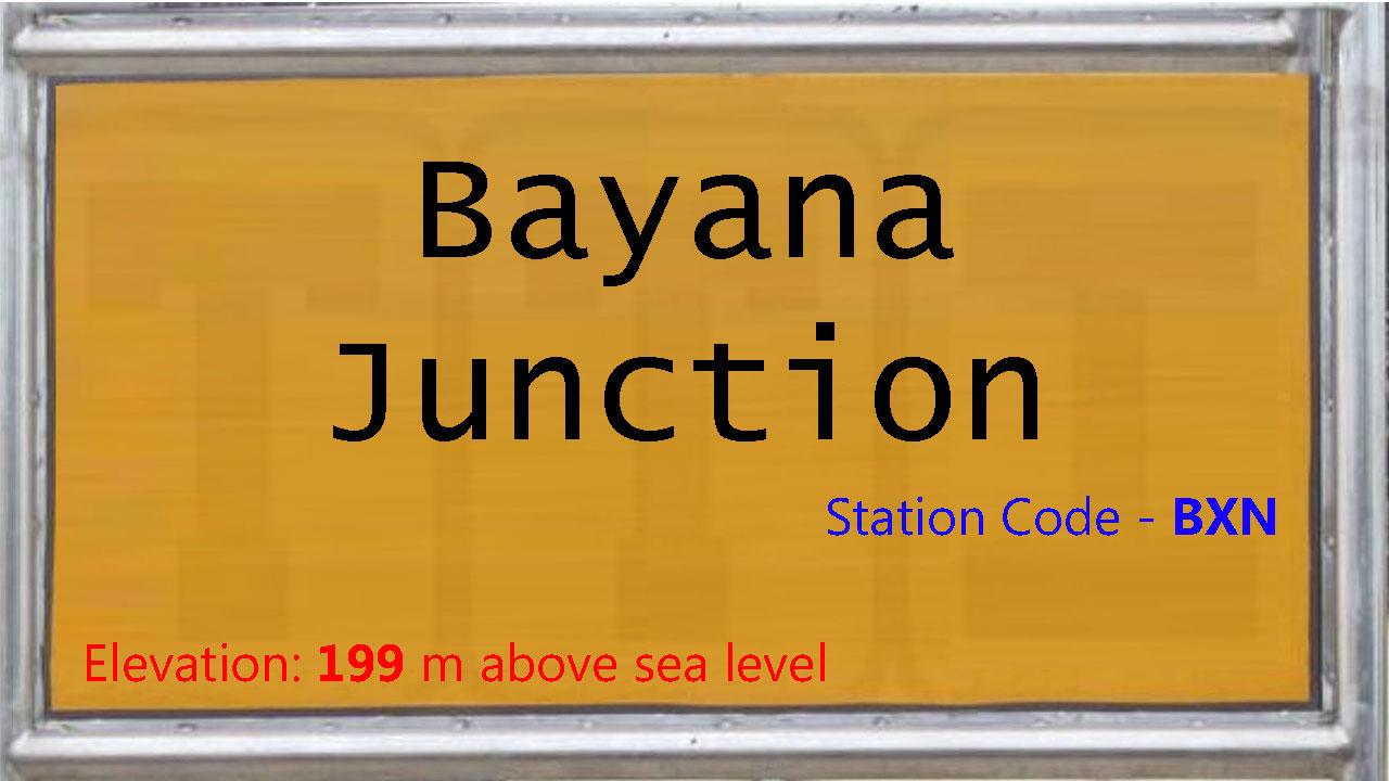 Bayana Junction