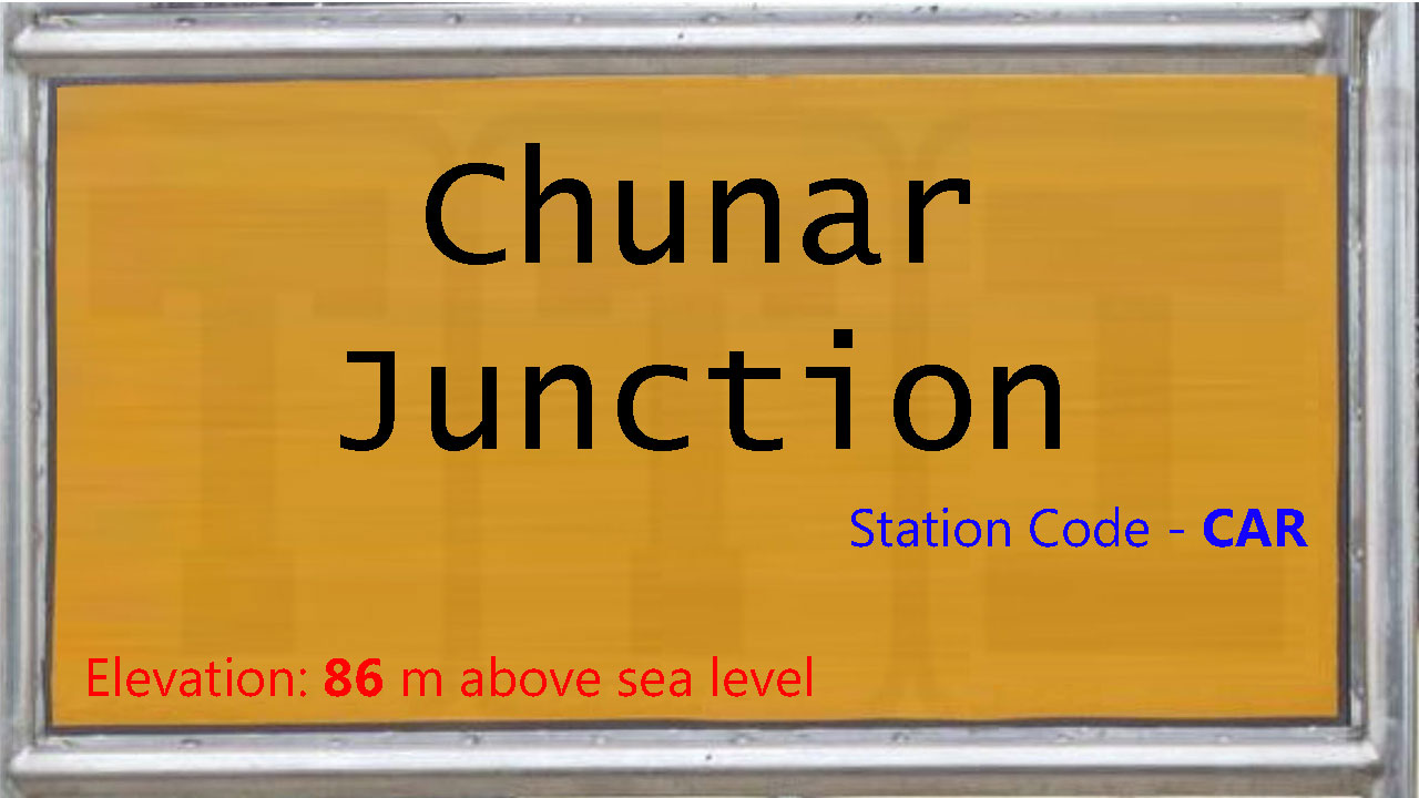 Chunar Junction