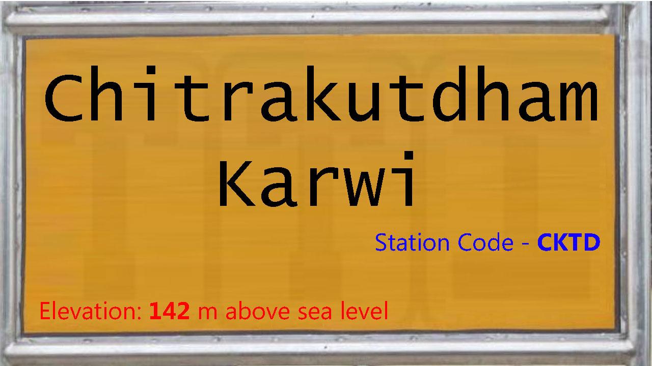 Chitrakutdham Karwi