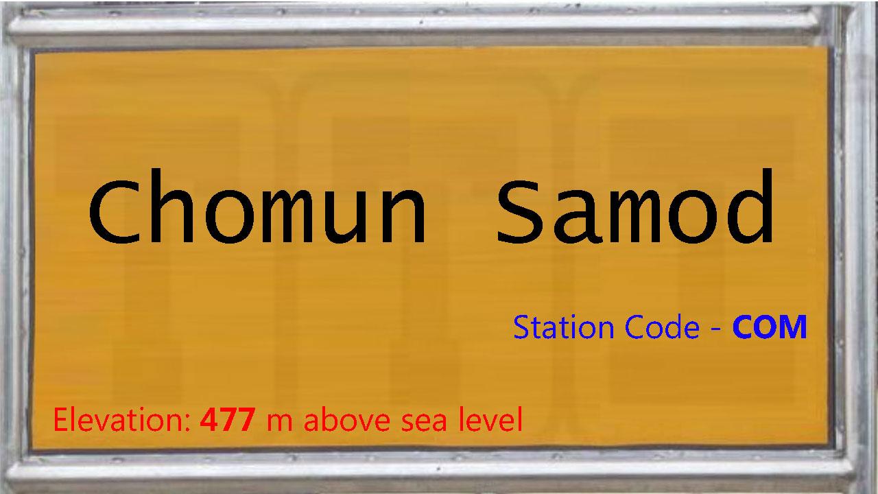 Chomun Samod