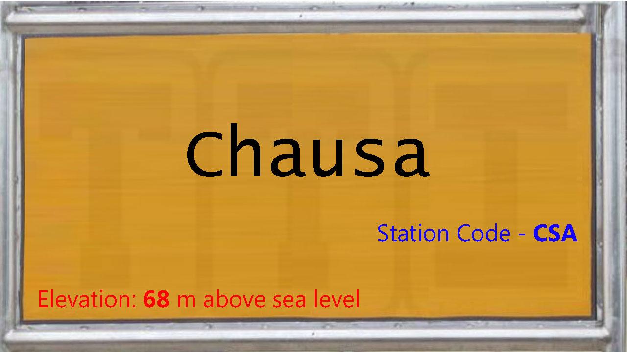 Chausa