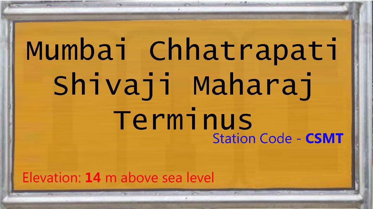 Mumbai Chhatrapati Shivaji Maharaj Terminus