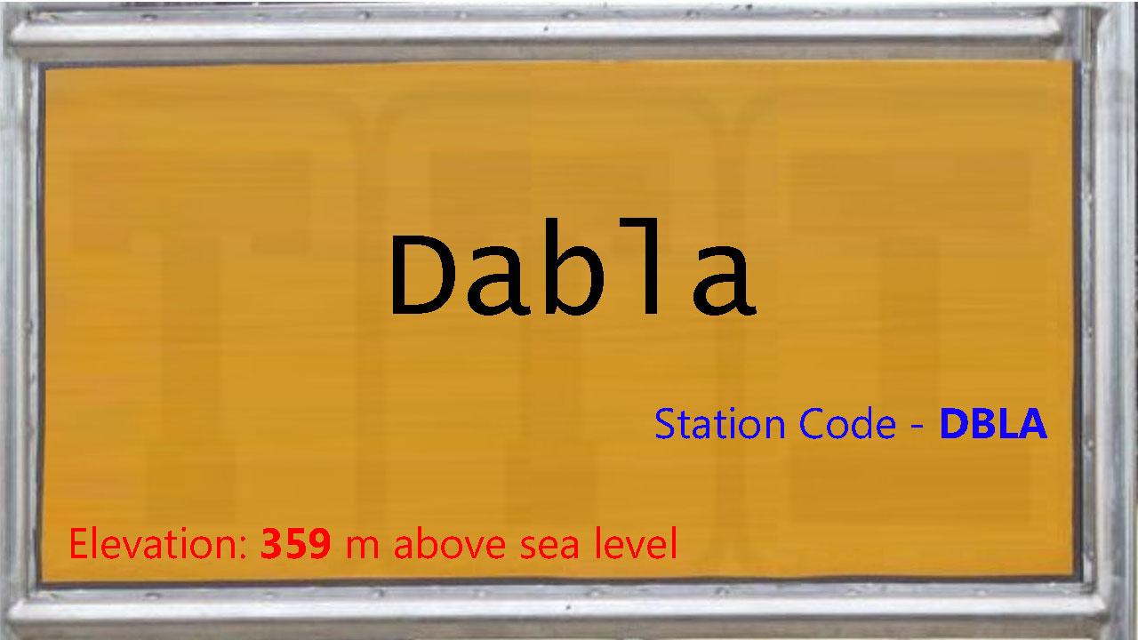 Dabla