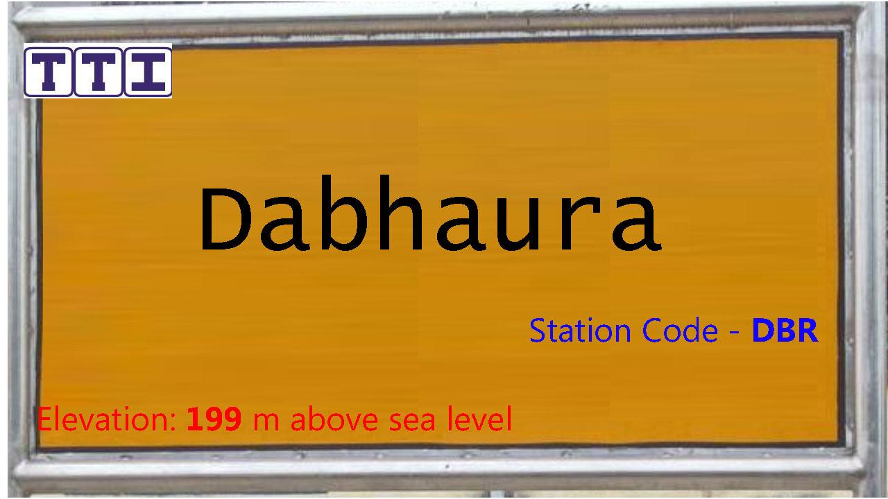 Dabhaura