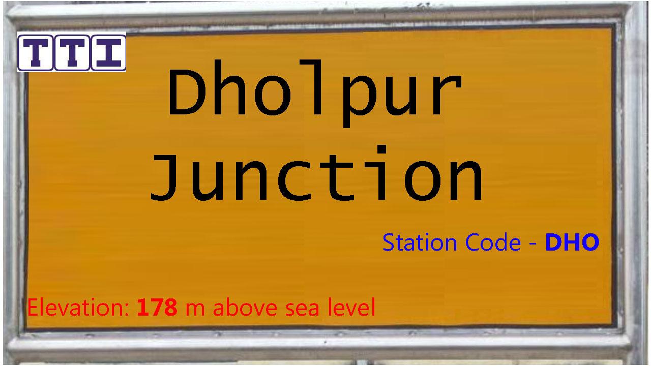 Dholpur Junction