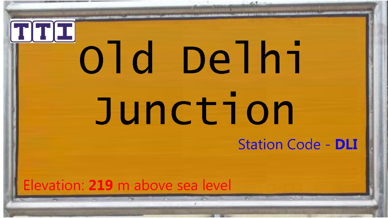 Old Delhi Junction