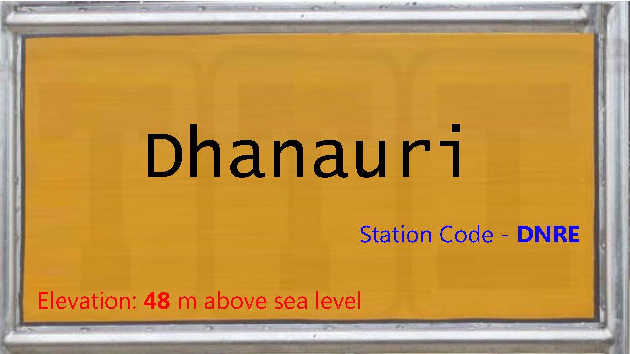Dhanauri