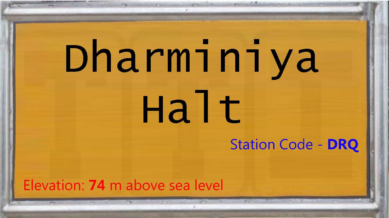 Dharminiya Halt