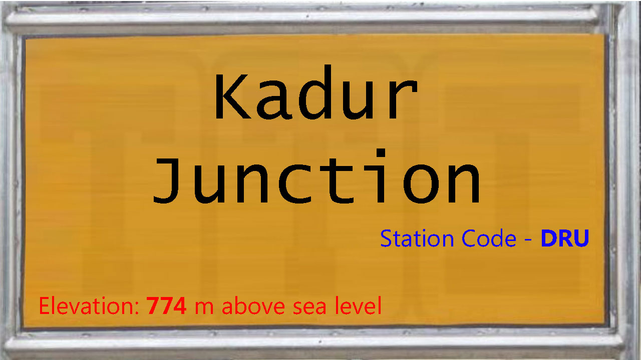 Kadur Junction