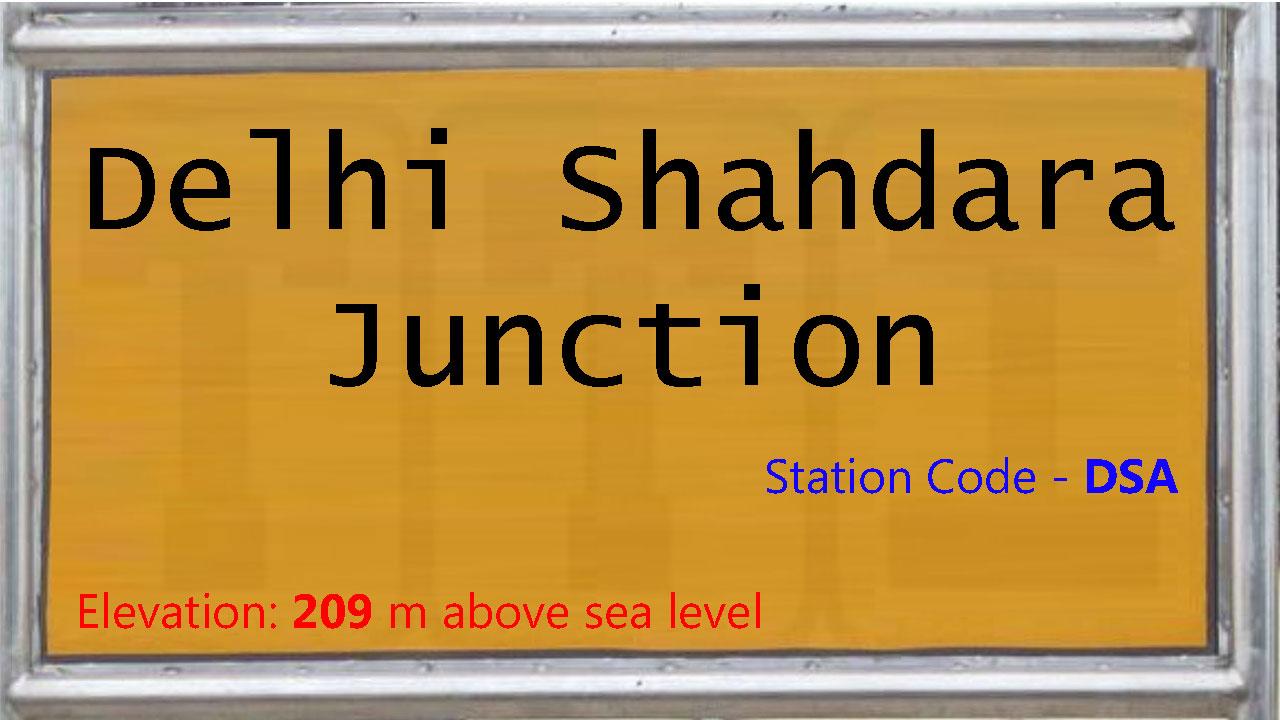 Delhi Shahdara Junction