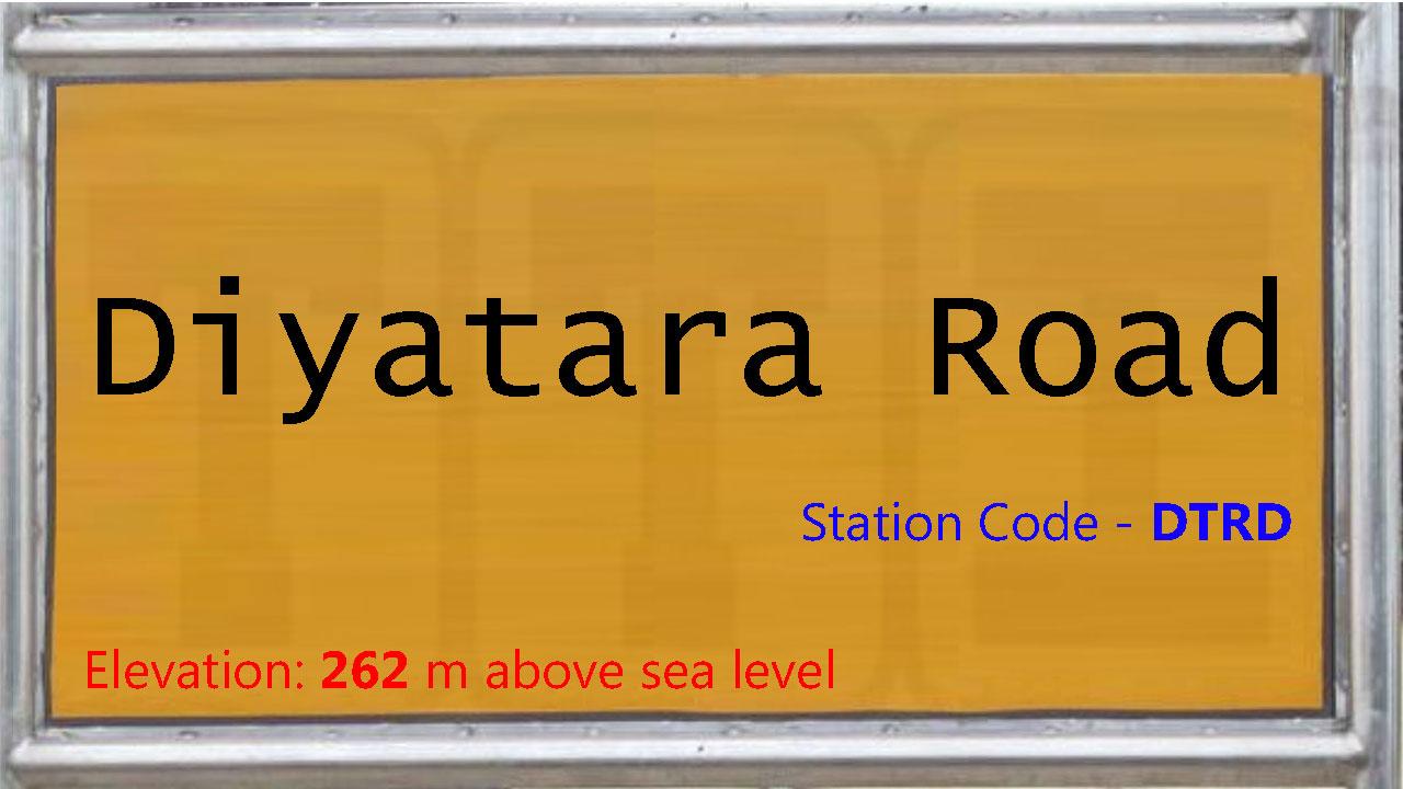 Diyatara Road