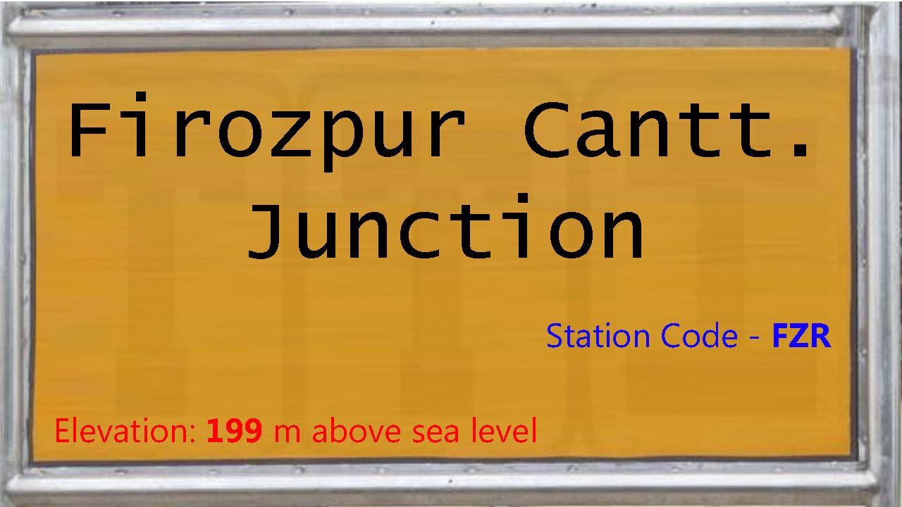 Firozpur Cantt. Junction